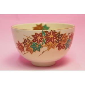紅葉 抹茶碗|shokki