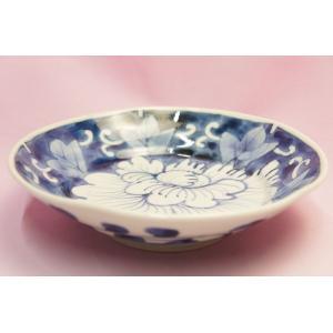 濃牡丹 6寸深皿(岡部美智子)|shokki