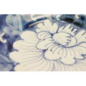 濃牡丹 6寸深皿(岡部美智子)|shokki|02