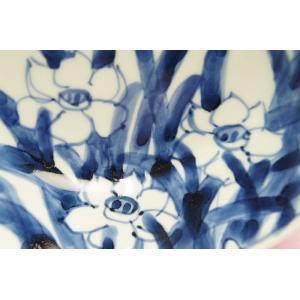 水仙 6寸深皿(岡部美智子)|shokki|02