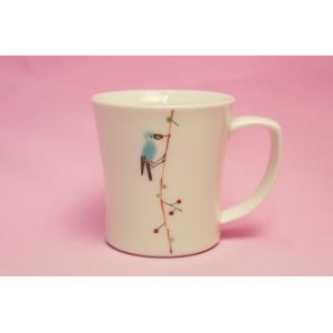 つぐみ鳥 ミニマグカップ|shokki