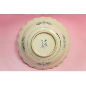 五代 佐藤走波 染錦中国少数民族絲綢 鉢|shokki|05