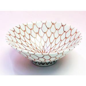赤網飯碗〔赤〕|shokki