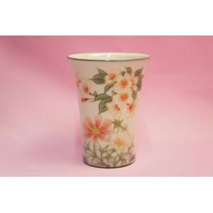 桜にコスモス フリーカップ|shokki