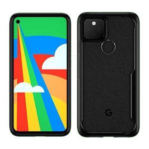 Foluu Google Pixel 5 ケース カバー 6インチ 落下防止 耐衝撃 軽量 全面保護 おしゃれ 背面カバー (黒)|shokolaballet