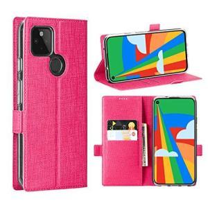Foluu Google Pixel 5 ケース カバー 6インチ 手帳型 カード収納 スタンド 落下防止 耐衝撃 軽量 全面保護 おしゃれ シンプル|shokolaballet