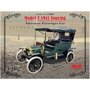 ICM 1/24 T型 フォード 1910 ツーリング プラモデル|shokolaballet
