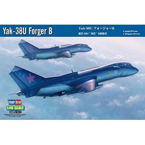 ホビーボス 1/48 エアクラフトシリーズ Yak-38U フォージャーB プラモデル|shokolaballet