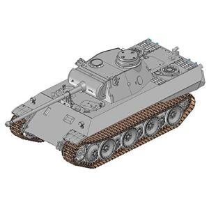 プラッツ 1/35 第二次世界大戦 ドイツ軍 パンターD型 V2 (試作2号車) プラモデル DR6822|shokolaballet