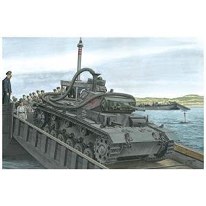 ドラゴン 1/35 第二次世界大戦 ドイツ軍 3号潜水戦車F型 アシカ作戦 プラモデル DR6877|shokolaballet