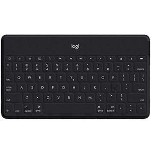 ロジクール iPad iPhone キーボード ポータブル iK1042BKA ブラック Bluetooth 薄型 充電式 iPhoneスタンド付 ワ shokolaballet