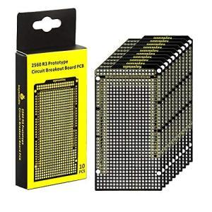 KEYESTUDIO 10個プロトタイププリント回路基板ブレイクアウトPCBボードシールドキット for Arduino MEGA 2560 電子工作 shokolaballet