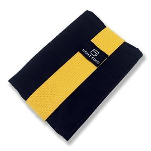 Light Fold FOLD小さな財布三つ折りメンズナイロン財布カード12が保持します X-小 イエロー|shokolaballet