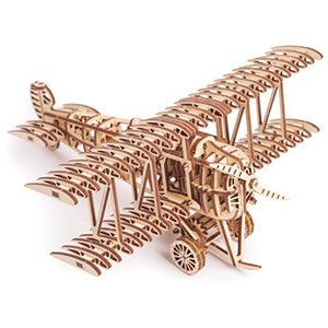 Woodtrick ウッドトリック 飛行機 木製3Dパズル shokolaballet