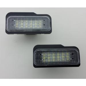 ベンツ W203 ワゴン W211 W219 LED 18個x2 純正交換 ナンバー灯 ライセンスランプ キャンセラー付 shokolaballet
