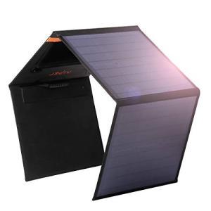 アイパー(Aiper)ソーラーチャージャー 60W ソーラーパネル【DC.USB出力/折畳み式/Smart-IC/保護回路搭載/防水】単結晶で高変換効 shokolaballet