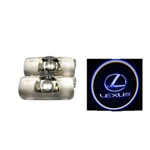 レクサス ドア ロゴ カーテシランプ LS/ES/IS/LX/RX/GX LEDドアライトトヨタ [並行輸入品] shokolaballet