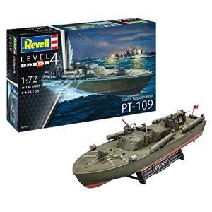 ドイツレベル 1/72 アメリカ海軍 PTボート PT-109魚雷艇 プラモデル 05147|shokolaballet