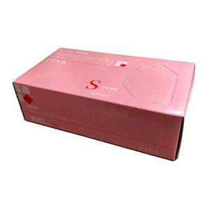 水野産業 ニトリルグローブ ピンク 100枚入り NITRILE GLOVES PINK ニトリル手袋 (S) shokolaballet