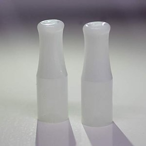 PloomTECH プルームテック 用 マウスピース ロング 2個セット ケース入り 日本製 (白銀...