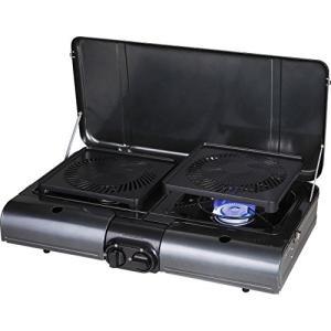 イワタニ テーブルトップ型BBQグリル フラットツイングリル CB-TBG-1|shokolaballet