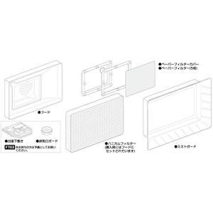 GSIクレオス Mr.スーパーブースコンパクト用 交換フードセット ホビー用塗装用具 FT03S shokolaballet