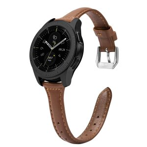 Samsung Galaxy Watch 42mm レザーバンド Huawei Watch 2 本革ベルト皮革 留め金 高級 レザー 快適 簡単取付 shokolaballet