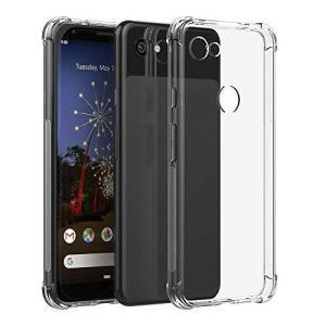 Miimall Google Pixel 3a TPUケース グーグル ピクセル3a 透明カバー シンプル 高透明 TPU材質 擦り傷防止 軽量 薄型|shokolaballet