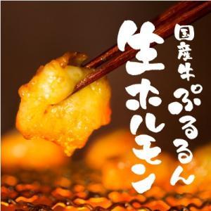 もつ鍋にも!『国産牛ぷるるん生ホルモン 250g』北海道・九州産 味付けなし 舞の海さん大絶賛 焼肉(BBQ バーベキュー)に 小腸(もつ鍋 モツ鍋) ギフトにも|shokufukutei