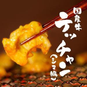 もつ鍋にも! 『国産牛ぷるるんテッチャン(シマ腸)250g』[北海道・関西・九州産] てっちゃん 焼肉 もつ鍋  ホルモン(焼き肉 焼肉)ギフトにも|shokufukutei