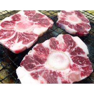 コラーゲンたっぷり『国産牛 骨付きテール焼肉用200g』骨付きカルビみたいに食べられます(29の日 肉の日)(焼き肉 焼肉 バーベキュー)北海道・関西・九州産|shokufukutei|03