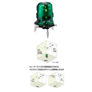 ムラテックKDS ATL-55G グリーンレーザー墨出器 本体のみ shokunin-japan