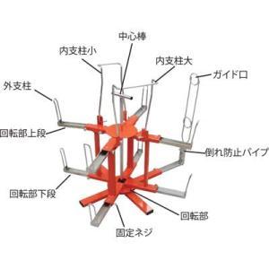 マーベル CD管リール2段式E-9905|shokunin-japan