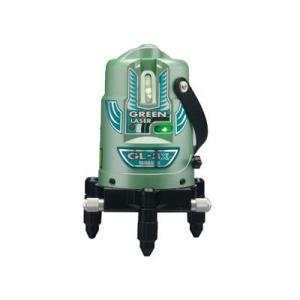山真製鋸 グリーンレーザー墨出し器 GL-3X-W(三脚・受光器付)|shokunin-japan