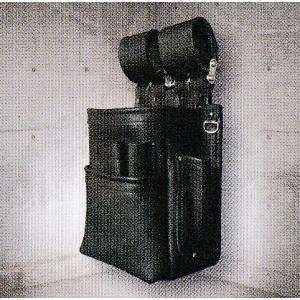 ニックス(KNICKS) KB-201SPDX 自在型チェーンタイプ総グローブ革2段腰袋 |shokunin-japan
