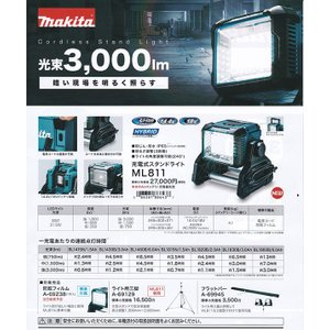 マキタ ML811 充電式スタンドライト|shokunin-japan|03