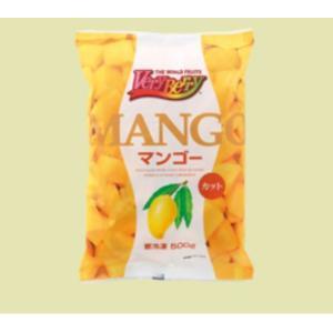マンゴーカット(冷凍) 500g×2袋(計1kg) 【ノースイ】 shokuzaicenter