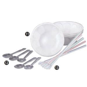プラスチックスプーン(100ケ入)  ※商品画像の12番でご確認下さい(発泡皿・ストローは別売りです...
