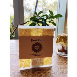 【eco わたしたちは選びます。】Bee Eco Wrap/Sサイズ|shonan-tsutayabooks
