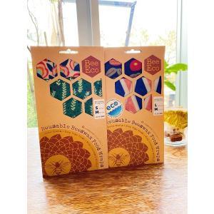 【eco わたしたちは選びます。】Bee Eco Wrap/SMサイズセット|shonan-tsutayabooks
