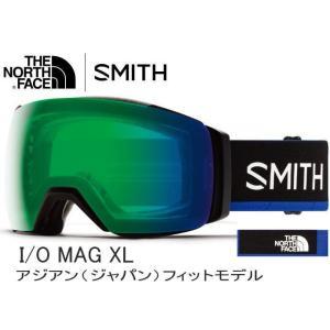 スノーゴーグル SMITH×The North Face スミス ノースフェース I/O MAG X...