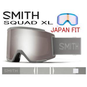 スノーゴーグル スミス スカッド AC アジアンフィット SMITH SQUAD XL ゴーグル ス...