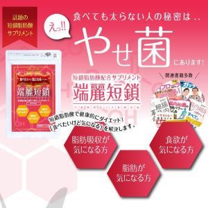 [初回購入のみ20%OFF] 端麗短鎖 60粒 短鎖脂肪酸配合サプリメント|shonansmile|03