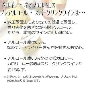 ベルギー大使館公式推薦 ノンアルコール スパークリングワイン 「デュク・ドゥ・モンターニュ」単品|shonanwine|03