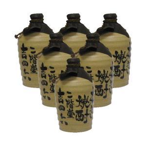【送料無料】吉四六 1.8L 1ケース(6本入り) 陶器入|shooya1230