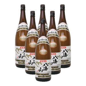 【送料無料】八海山 本醸造 1.8L 1ケース(6本入り)|shooya1230