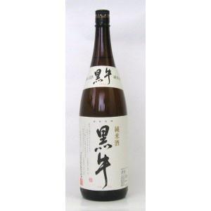 黒牛 純米酒 1.8L|shooya1230