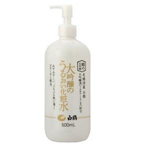 鶴の玉手箱 大吟醸のうるおい化粧水 500ml shooya1230