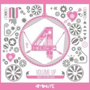 4MINUTE - VOLUME UP (3ND MINI ALBUM)|shop-11