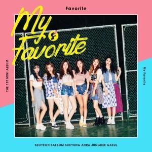 FAVORITE MY FAVORITE 1ST MINI ALBUM フェイバリット 1集 ミニアルバム|shop-11
